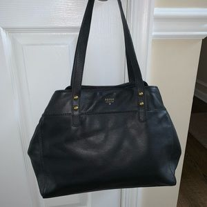 Excellent condition fossil leather bag